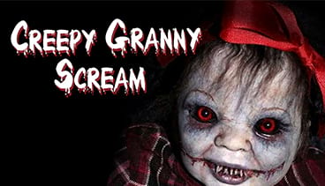 Creepy Granny Scream