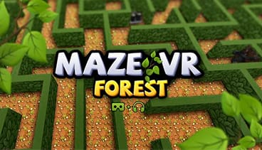 Maze VR Forest